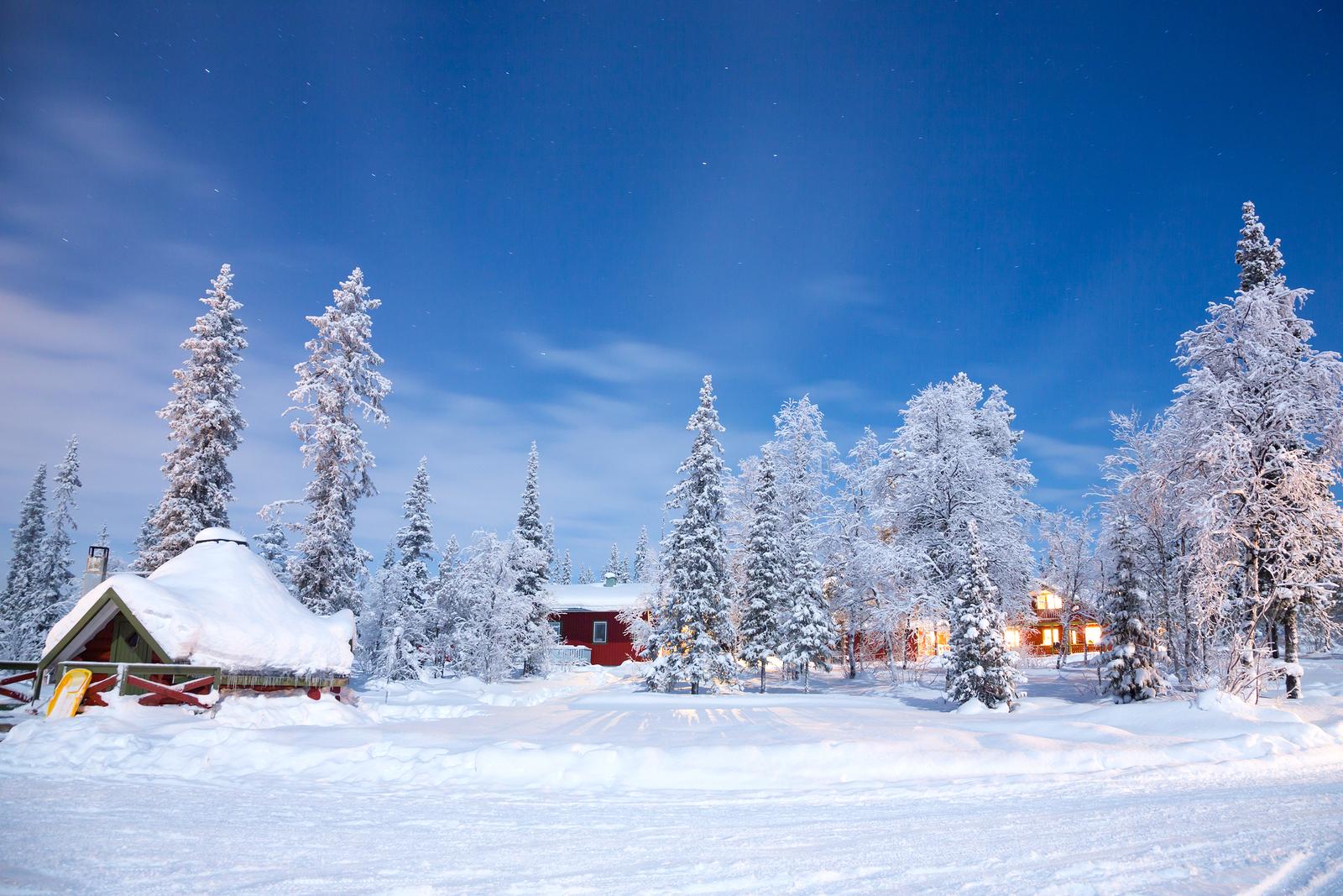 Hyr bil i Kiruna