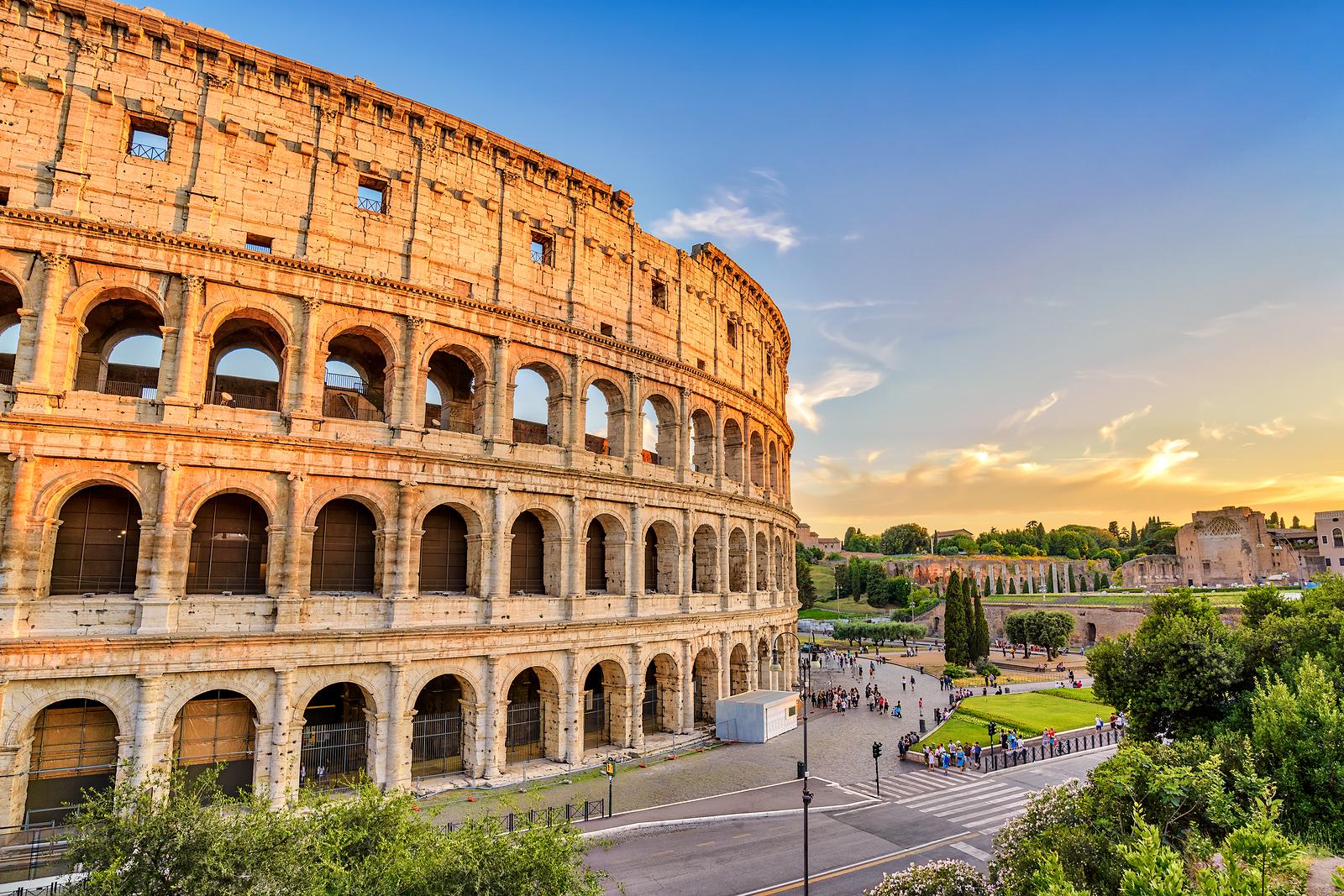 Hyr bil i Rom