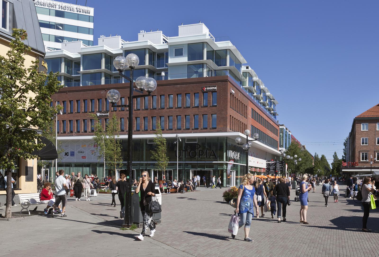 Hyr bil i Umeå