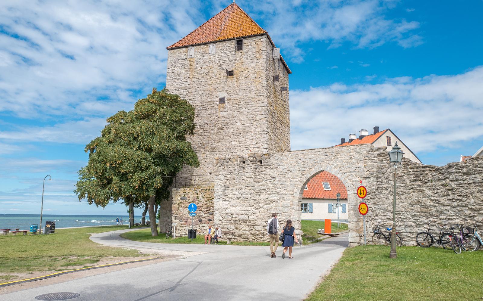 Hyr bil i Visby