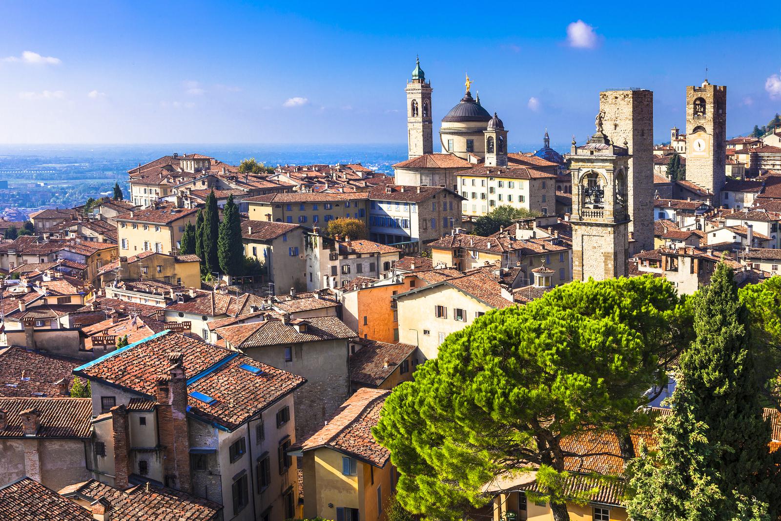 Hyr bil i Bergamo